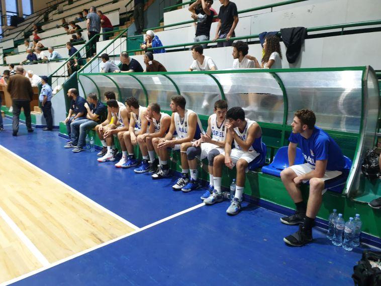 סיימו את מחנה האימונים עם ניצחון. נבחרת הנוער (איגוד הכדורסל)