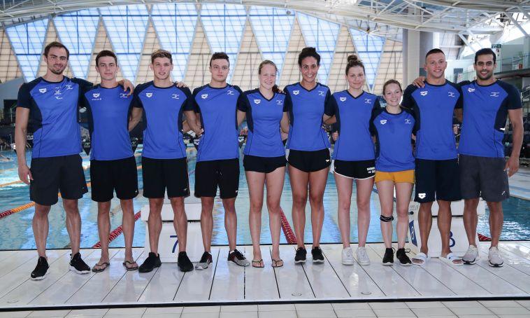 עוברים תהליך. נבחרת ישראל בשחייה (דני מרון)