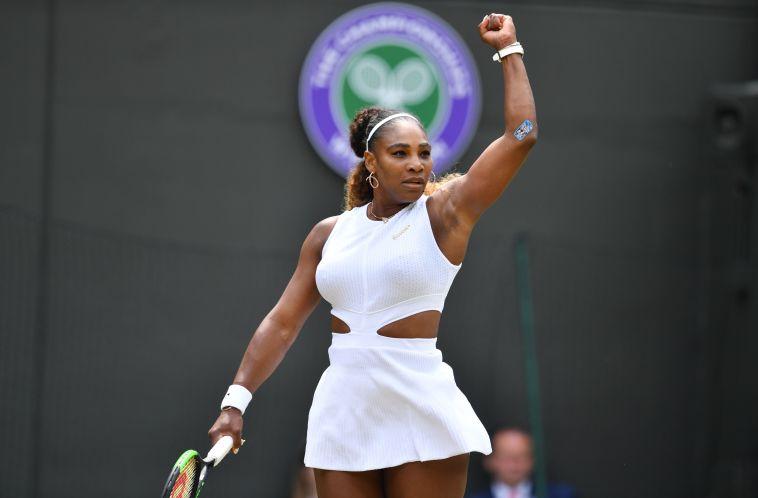 סרינה וויליאמס. מחפשת זכייה שמינית בטורניר היוקרתי (GLYN KIRK/AFP/Getty Images)