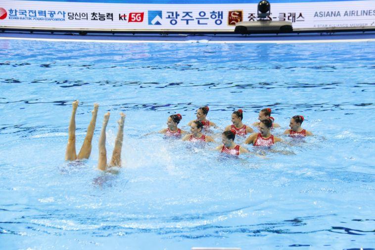 נבחרת ישראל בשחייה אומנותית (מיכאל בובריצקי)