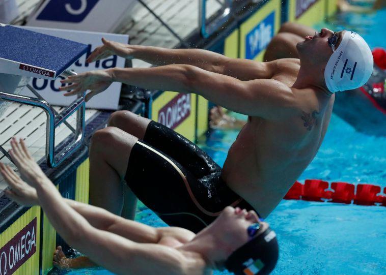 קופלב. האם יגיע סוף סוף למשחקים האולימפיים? (סימונה קסטרווילארי, באדיבות איגוד השחייה בישראל)