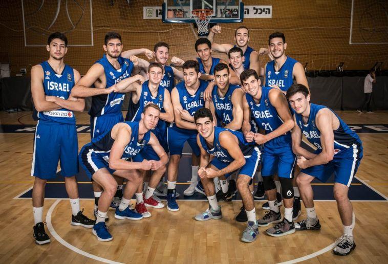 נבחרת הנוער של ישראל. זכייה ראשונה מאז 2015 (איגוד הכדורסל)