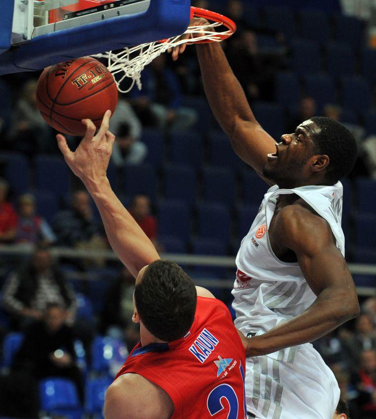 וויליאמס. שיחק נגד הקבוצות הטובות באירופה במדי באמברג (YURI KADOBNOV/AFP/Getty Images)