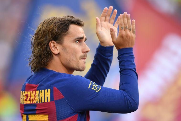 אנטואן גריזמן בברצלונה. קבוצתו החדשה עשויה לשלם 80 מיליון יורו נוספים (David Ramos/GettyImages)