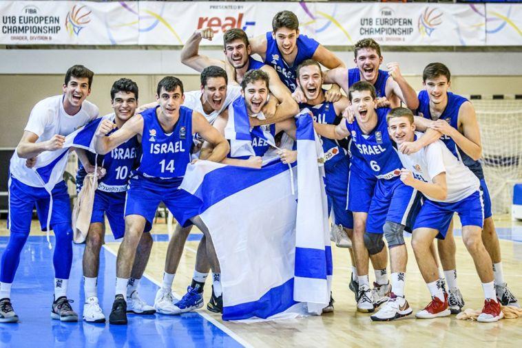 החזירו את ישראל לדרג א' אחרי שלוש שנים. שחקני נבחרת הנוער לאחר ההעפלה (FIBA)