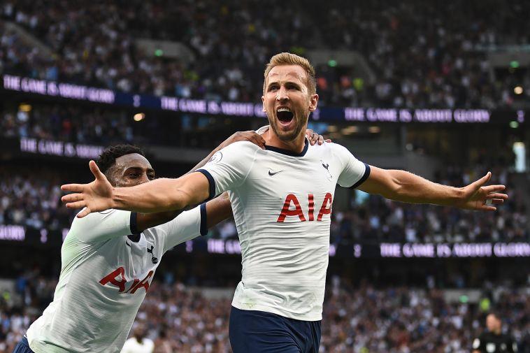 הארי קיין. צמד אחרי שלא כבש מעולם במשחק פתיחה (DANIEL LEAL-OLIVAS/AFP/Getty Images)