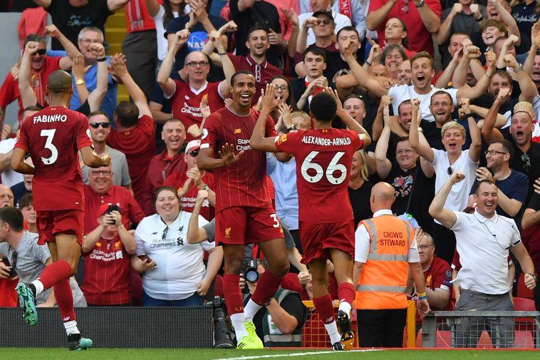 שליטה מוחלטת של ליברפול נגד ארסנל (BEN STANSALL/AFP/GettyImages)