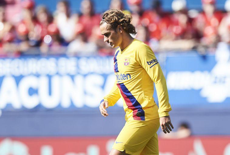 אנטואן גריזמן. מסתבר שהוא שיחק אתמול. (Manuel Serrano Arce/Getty Images)