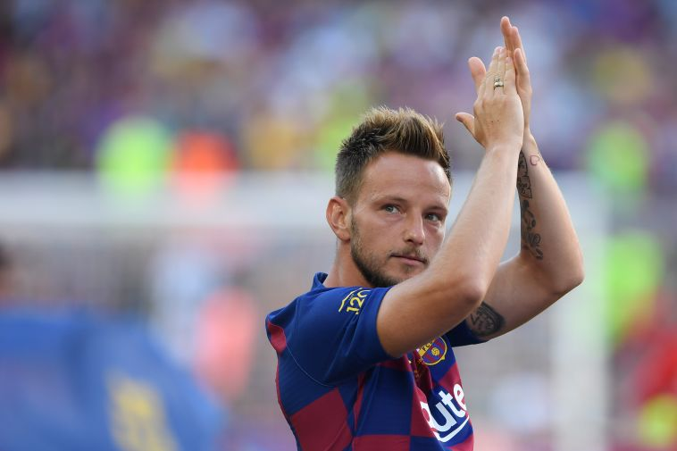 ראקיטיץ'. פותח עונה שישית בברצלונה (JOSEP LAGO/AFP/Getty Images)