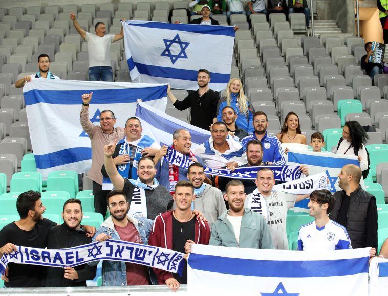 הקהל הישראלי הגיע לליובליאנה (אודי ציטיאט, סלובניה)