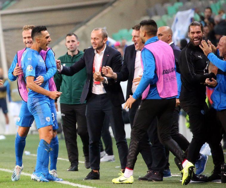 הרצוג סילק את הדיכאון הקיומי מעל שחקני נבחרת ישראל (אודי ציטיאט)