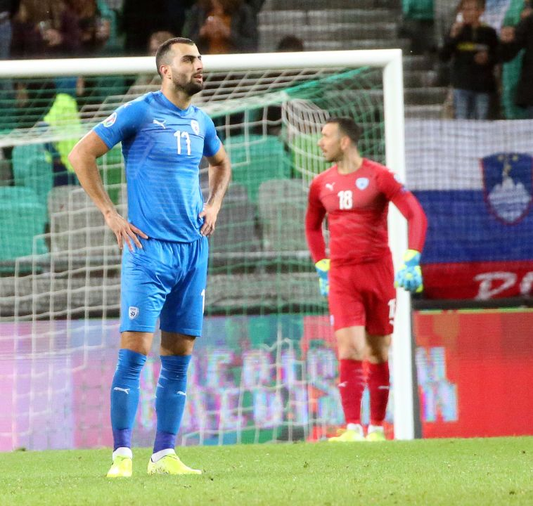 אכזבה גדולה עבור נבחרת ישראל. (אודי ציטיאט, סלובניה)