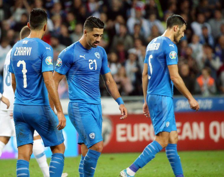 """שחקני נבחרת ישראל מאוכזבים. """"עוד תחושה חמוצה של פספוס (אודי ציטיאט)"""