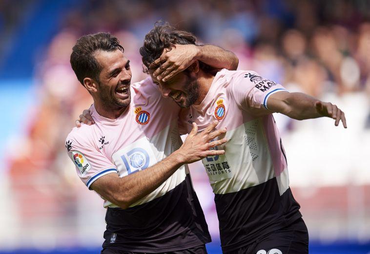 ניצחון עם הרבה אופי לאספניול נגד אייבר (Juan Manuel Serrano Arce/Getty Images)