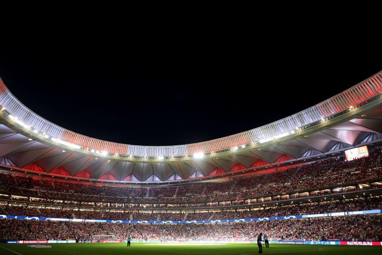 אווירת חג באצטדיון החדש במדריד (Angel Martinez/Getty Images)