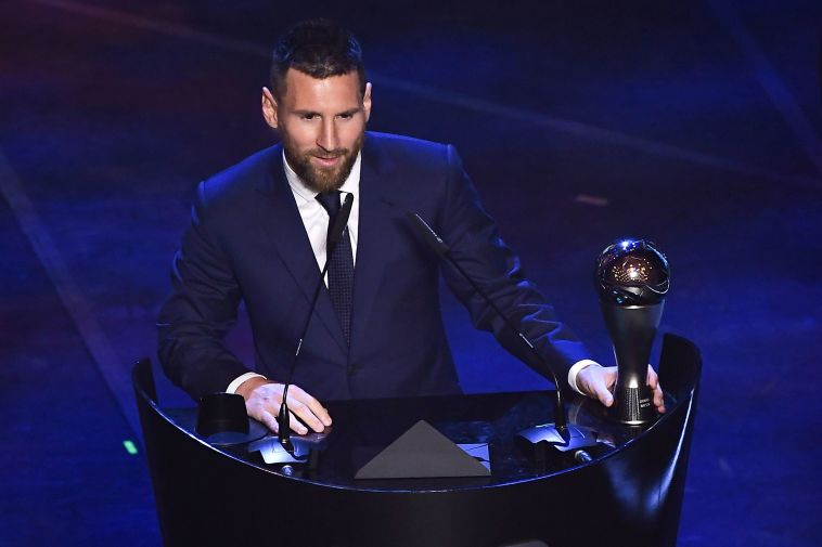 """רק לאחרונה זכה ה""""פרעוש"""" בתואר שחקן השנה. """"לא ברשימת המטרות שלי"""" (MARCO BERTORELLO/AFP/Getty Images)"""