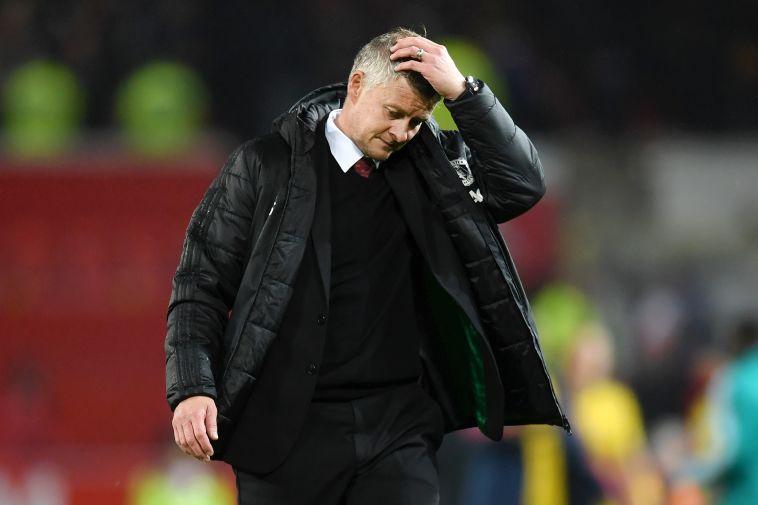 סולשיאר לא היה מרוצה בסיום. פתיחת העונה הגרועה ביותר מזה 30 שנים של מנצ'סטר יונייטד (Michael Regan/Getty Images)