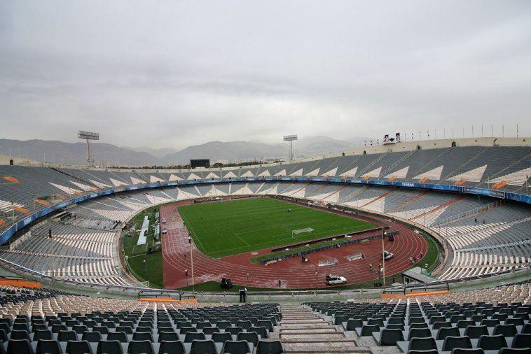 אצטדיון אזאדי בטהרן. נשים יכנסו אליו לראשונה (ויקיפדיה)