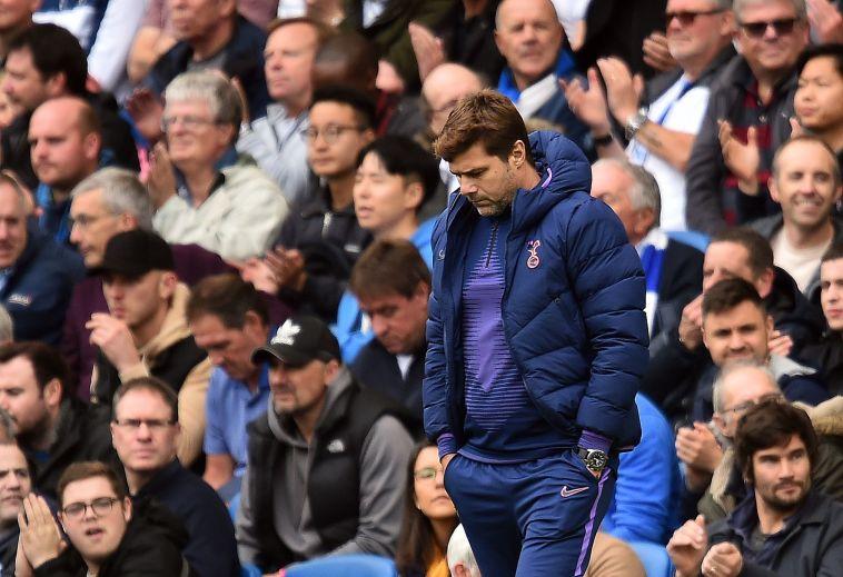 """פוצ'טינו. """"אפשר היה להבין אחרי השער השלישי שהמשחק נגמר"""" (GLYN KIRK/AFP/Getty Images)"""