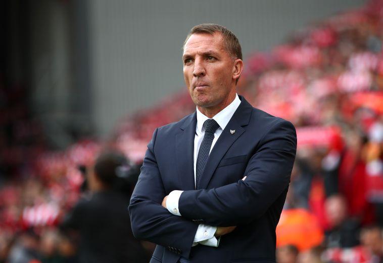ברנדן רוג'רס חזר לאנפילד לראשונה מאז עזב את ליברפול (Clive Brunskill/Getty Images)