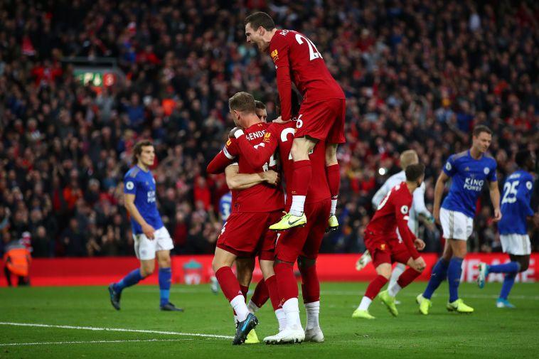 ניצחון דרמטי. ליברפול חוגגת את שער הניצחון של מילנר (Clive Brunskill/Getty Images)