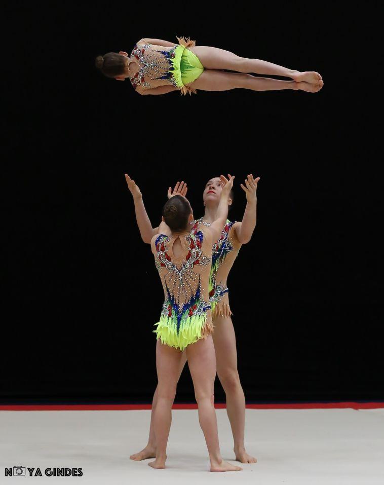 המתעמלות הישראליות. אליפות אירופה באקרובטיקה מגיעה לישראל (נויה גינדס)