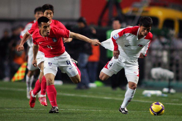 המשחק האחרון בין הנבחרות, באפריל 2009 (Koji Watanabe/Getty Images)