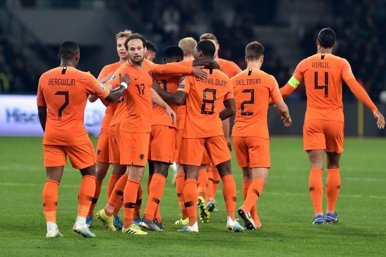 ניצחון חשוב להולנד. (SERGEI GAPON/AFP via Getty Images)