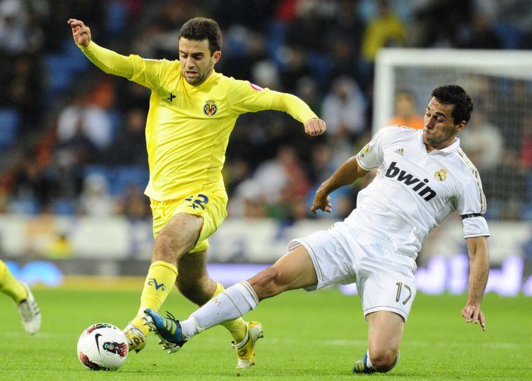 ג'וזפה רוסי נגד ריאל מדריד. יחזור לשחק באל מדריגל? (JAVIER SORIANO/AFP/Getty Images)