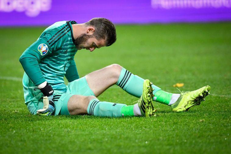 דה חאה ייעדר מהמשחק החשוב נגד ליברפול (ANDERS WIKLUND/TT News Agency/AFP via Getty Images)