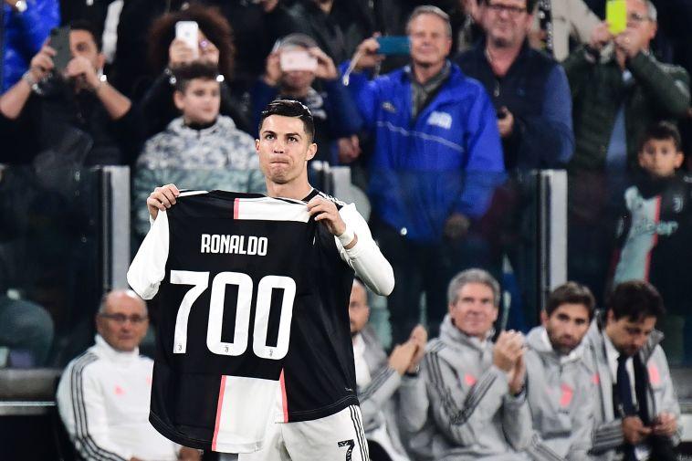 """חוגג את שערו ה-700. """"לא חושב על זה יותר"""" (MARCO BERTORELLO/AFP via Getty Images)"""