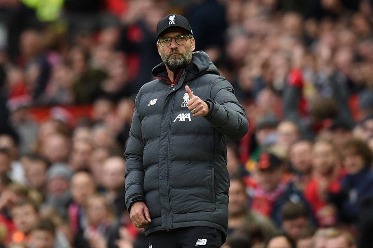 קלופ. ליברפול מחפשת את המקום הראשון בבית (OLI SCARFF/AFP via Getty Images)