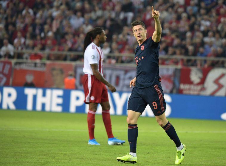 רוברט לבנדובסקי. החלוץ הפולני בכושר שיא (Jan Kruger/Getty Images)