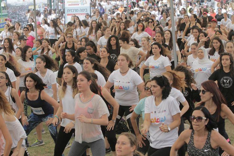 כמות גדולה של נשים צפויות להגיע לפארק הרצליה (רונן טופלברג)