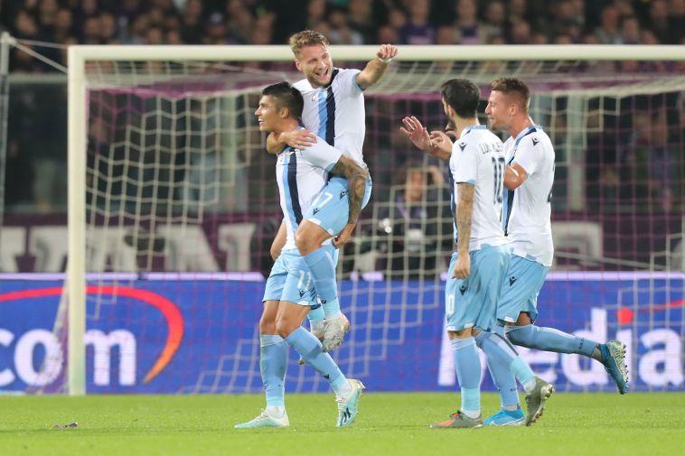 ניצחון חשוב מאוד של לאציו בפירנצה. (Gabriele Maltinti/Getty Images)