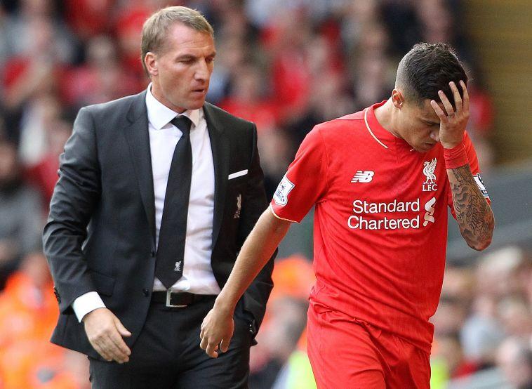 עם קוטיניו כמאמן ליברפול. היה זקוק לאתגרים אחרים (LINDSEY PARNABY/AFP via Getty Images)