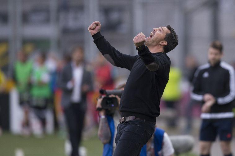 """גארסיה. """"הם יקבלו ביטחון וסבלנות מהמאמן החדש"""" (Getty Images/Bongarts/Getty Images)"""