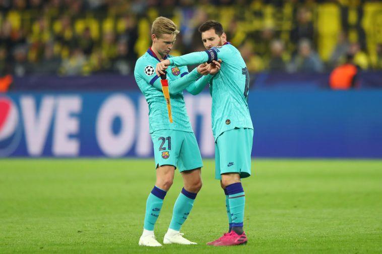 """""""דה יונג השתלב בצורה פנטסטית, הוא שחקן כדורגל שלם"""" (Martin Rose/Bongarts/Getty Images)"""