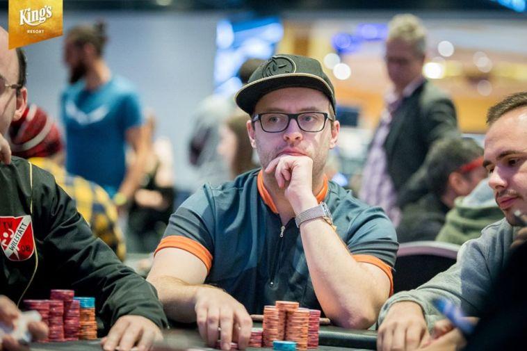 רוברט קמפבל. שחקן השנה הרשמי של WSOP 2019 (Courtesy of King's Resort)