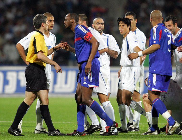 לא הצליחו לנצח בישראל בדרך לגמר המונדיאל (FRANCK FIFE/AFP via Getty Images)