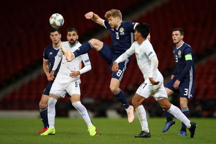 ישראל נגד סקוטלנד, הסיבוב הקודם. נבחרת עדיפה מאיתנו (MacNicol/Getty Images)
