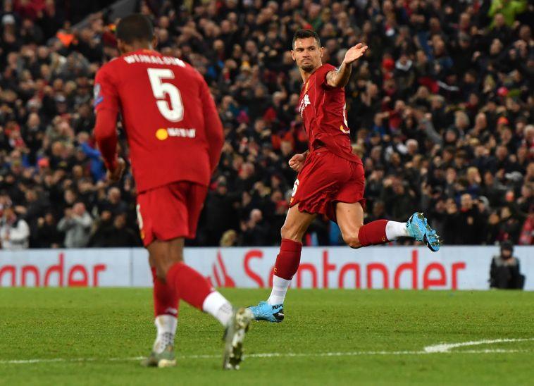 לוברן. ליברפול מעולם לא הפסידה כשהוא כבש (PAUL ELLIS/AFP via Getty Images)