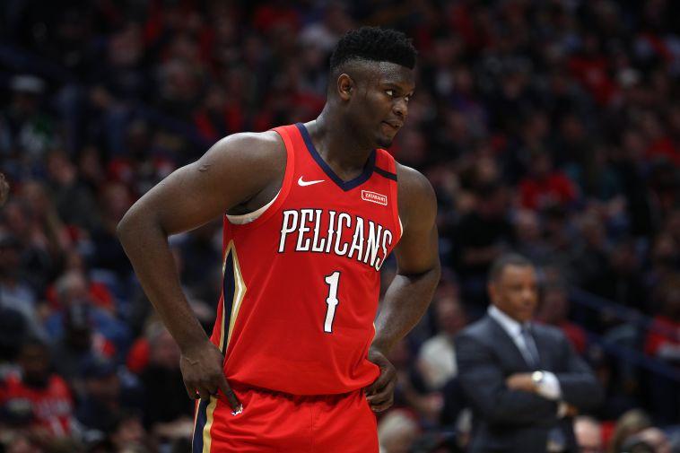זאיון וויליאמסון. ב-NBA לא רוצים לוותר עליו (Chris Graythen/Getty Images)