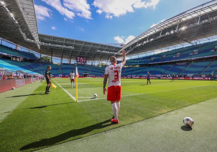 אווירה מוזרה. האצטדיון הריק של לייפציג (Jan Woitas/Pool via Getty Images)