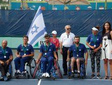 נבחרת ישראל בטניס בכיסאות גלגלים