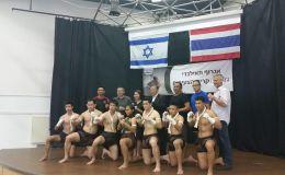 משלחת לוחמי מואי טאיי בישראל