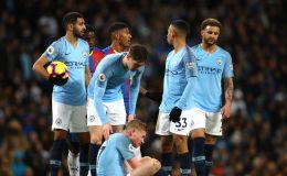 שחקני מנצ'סטר סיטי מאוכזבים